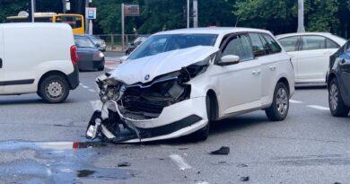 Skoda Opel wypadek