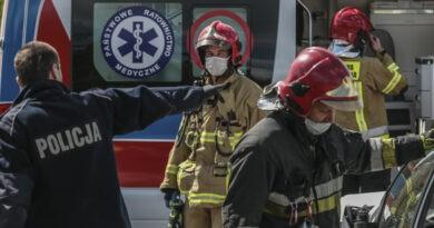 Męzczyzna zasłabł za kółkiem w Warszawie