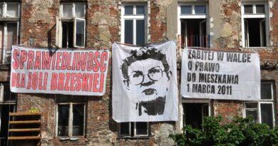 Jolanta Brzeska nie zostanie honorową obywatelką Warszawy