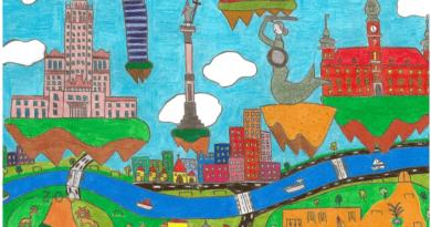 Zwycięski rysunek Warszawy ozdobi Karty Ucznia