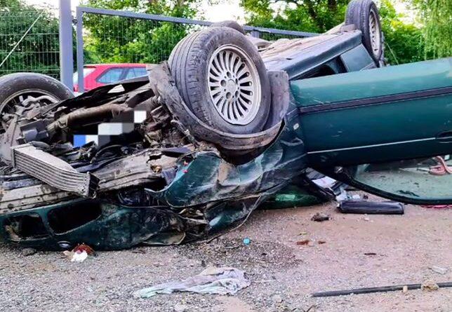 Wypadek na Rajdowej.