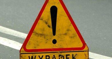 Korki spowodowane zapadnięciem się jezdni na Wisłostradzie.